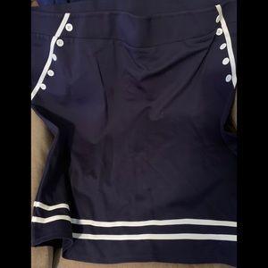 Torrid retro sailor skirt size 5
